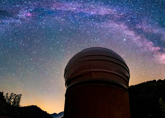 The Diari de Girona dedicates two news about the 'Rosette Nebula'