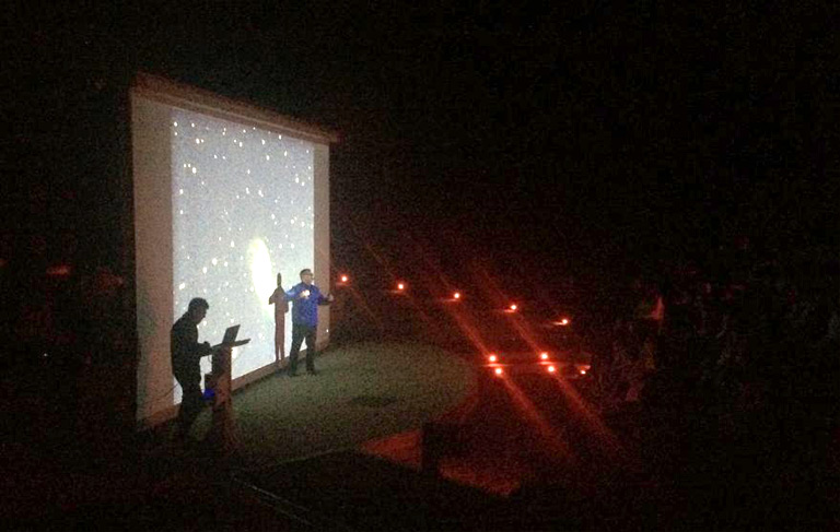 La Vanguardia talks about the first stargazings of AAO's season