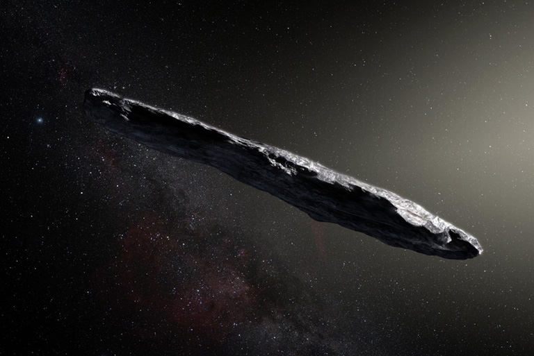 """Oumuamua"", the first interstellar asteroid"