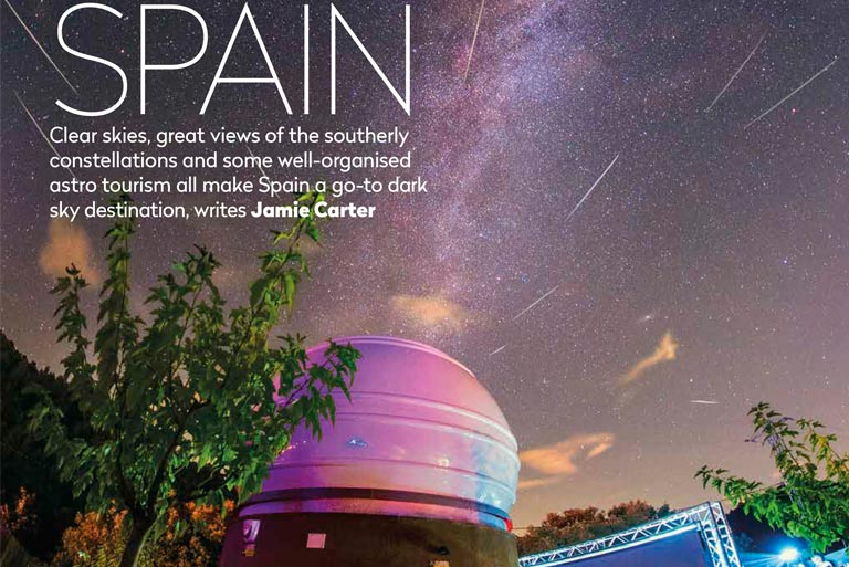 'Sky at night' highlights the Albanyà Astronomical Observatory as one of the must-go places in Spain due to observate night skies