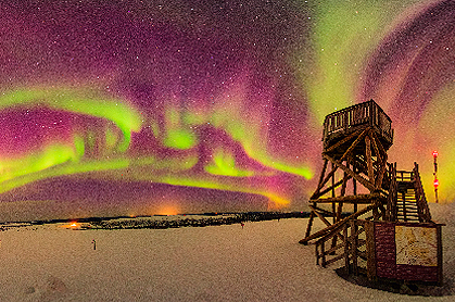 Photographic trip: aurora borealis next autumn